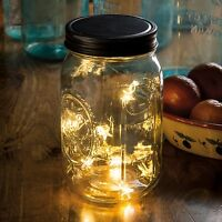 Mason Jar Lid Star Lights, Wide Mouth Lid, 3.5 Diameter, Primitives By Kathy