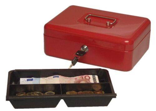 90025 Geld Wert Münz Dokumenten Kassette Tresor Spardose Geldkassette 25x19x9cm