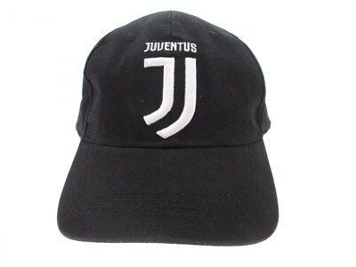 1 CAPPELLO JUVENTUS NERO UFFICIALE CAP OFFICIAL HIGUAIN DYBALA JUVE BUFFON RIGHE