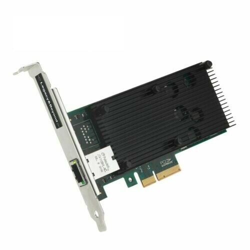 SIIG Single Port 10G Ethernet Network PCI Express Add-On Card Adapter