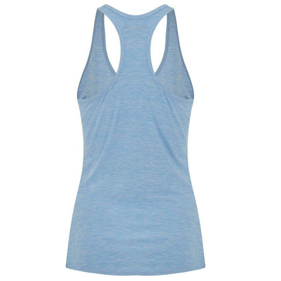 Myprotein Women's Performance Slogan Vest - Light Blue Extra Small