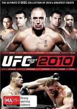 UFC - The Best Of 2010 (DVD, 2-Disc Set) *NEW & SEALED *FAST & FREE SHIPPING