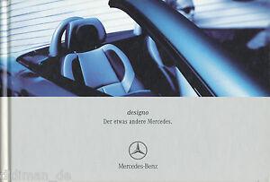 Mercedes-Designo-Prospekt-2001-4-01-Ausstattung-Sonderausstattung-brochure-Auto