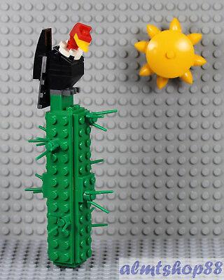 LEGO Desert Scene w// Cactus Plant Vulture Cow Skull Scorpion Sun Wild West