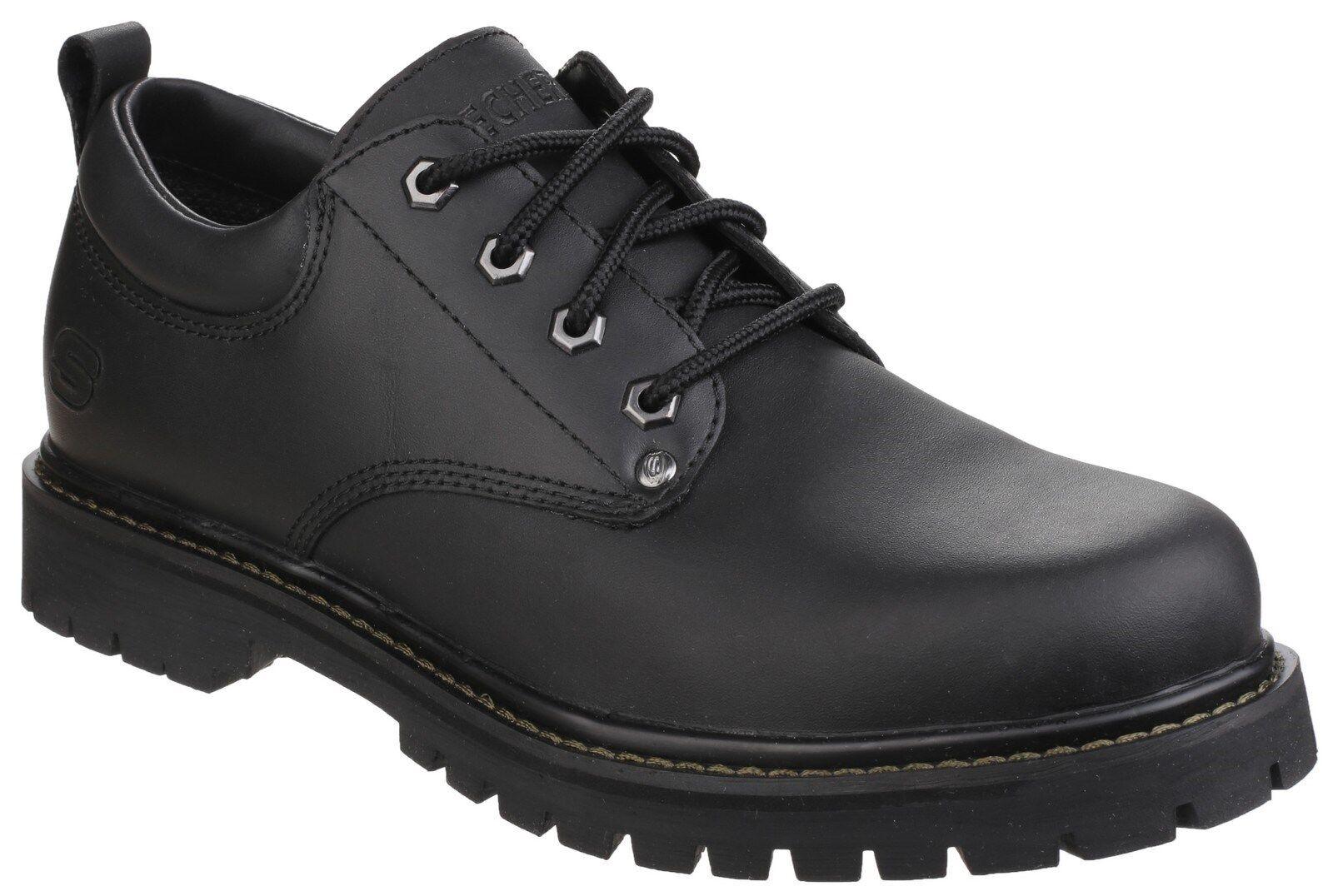 Scarpe casual da uomo  Skechers Tom Gatti da uomo casual oxford pizzo su lavoro scarpe stivali uk6-12