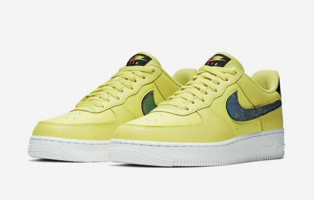 Size 8 5 Nike Air Force 1 Low 07 Lv8 Yellow Pulse For Sale Online Ebay