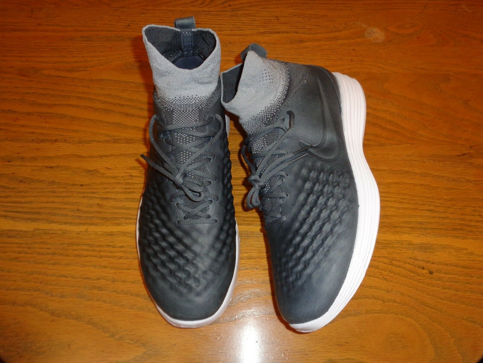 NIKE LUNAR MAGISTA II FLYKNIT MENS ATHLETIC SHOES 852614-002 NEW SIZE 11.5