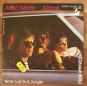 Single-7-034-VINYL-Marc-Harris-Airpost-we-039-re-Lost-in-a-JUGLE-HANSA