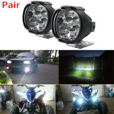 2 Pcs Car Motorcycle Waterproof LED External Lights Fog Light Headlight Lamp UP