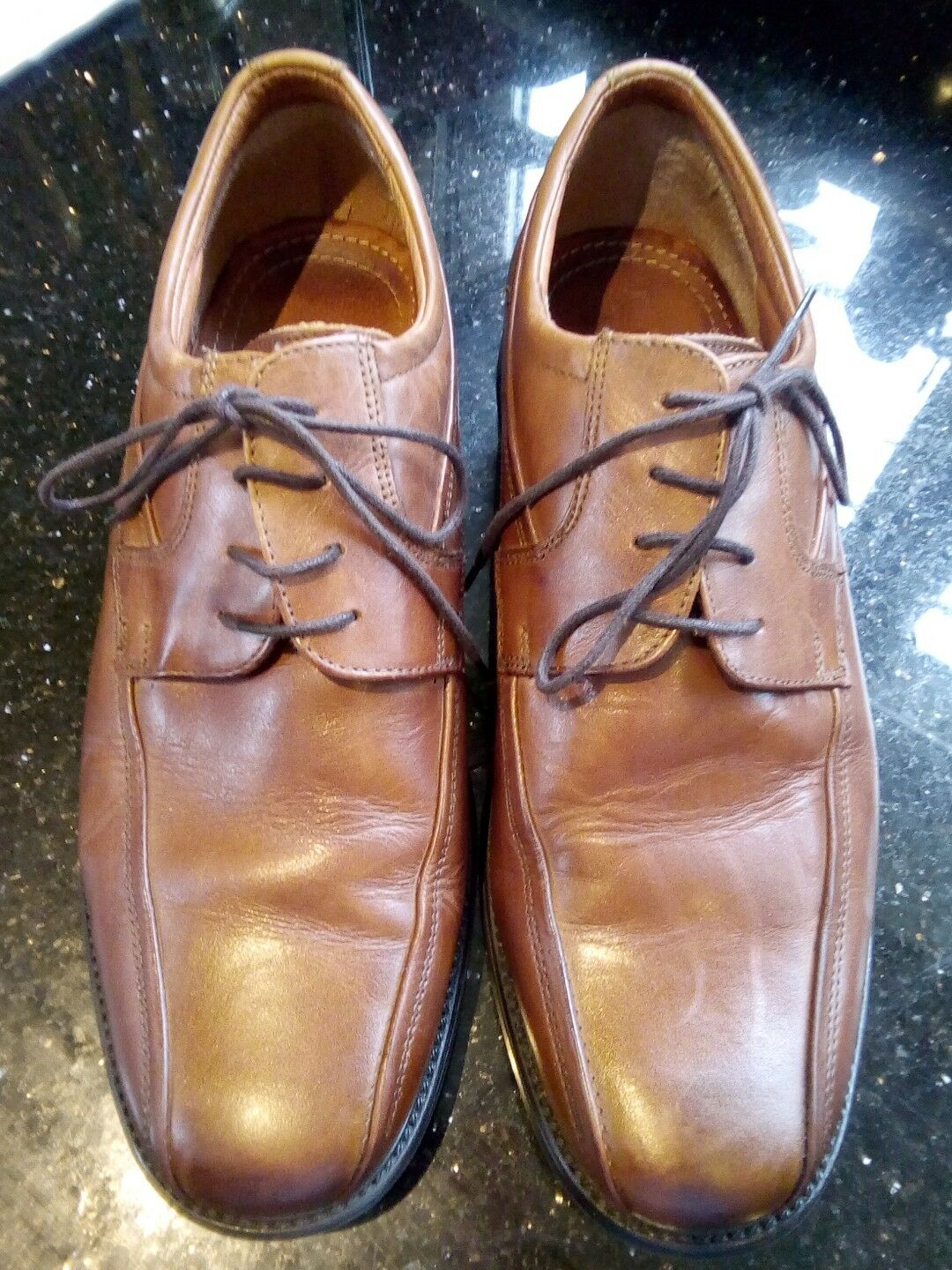 Gents men's jones the bootmaker eu 44 gents tan leather shoes