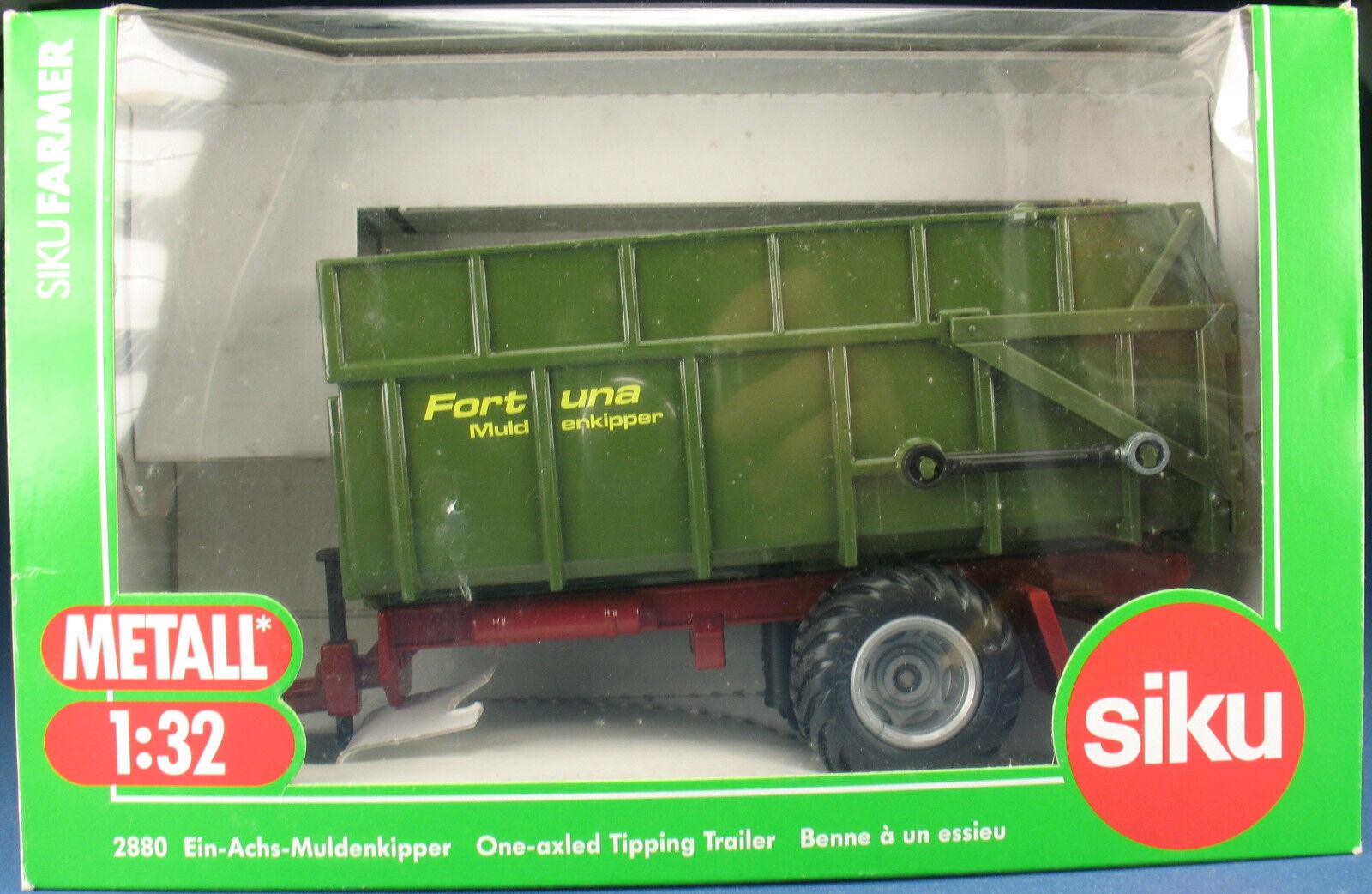SIKU FARMER 2880 - Ein-Achs-Muldenkipper - NEU in OVP - 1 32 Anhänger f. Traktor  | Attraktive Mode