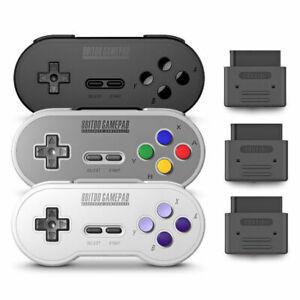 Wireless-Bluetooth-Controller-Gamepad-Receiver-8Bitdo-SN30-Suit-for-Nintendo
