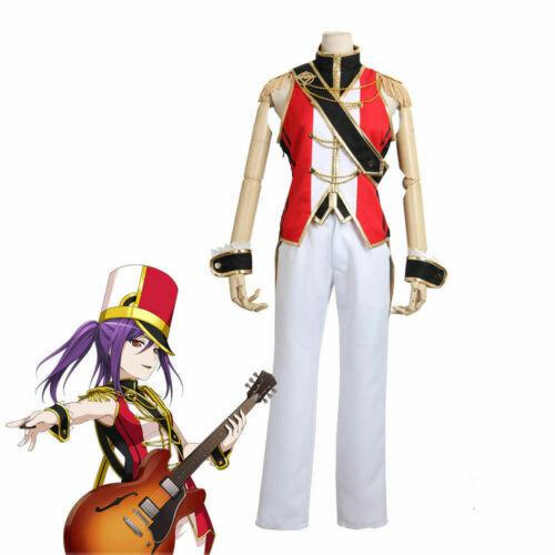 BanG Dream Hello Happy World Seta Kaoru Uniform Outfit Anime Cosplay Costume