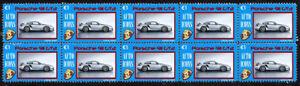 PORSCHE-AUTO-ICONS-STRIP-OF-10-VIGNETTE-STAMPS-PORSCHE-GT2-2