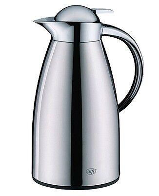 Alfi Isolierkanne Gusto Kaffeekanne Teekanne Iso Kanne Edelstahl poliert 1 L