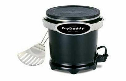 05420 Fry Daddy Profondo Friggitrice elettrica da banco NonStick NUOVO