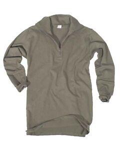 BW-Camiseta-de-Jersey-con-RV-oliva-camping-exterior-MILITAR-nuevo
