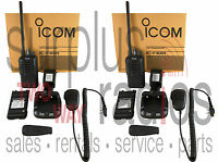 Icom F3001 Vhf Radios 5w 16ch High Power Long Range Security Casino Club