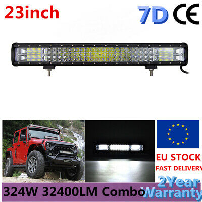 15//18//20//22INCH 288W 252W 324W LED Work Light Bar Combo Beam ATV SUV UTV Offroad