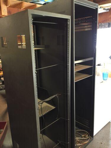 Computer Network Server racks by Raxx.