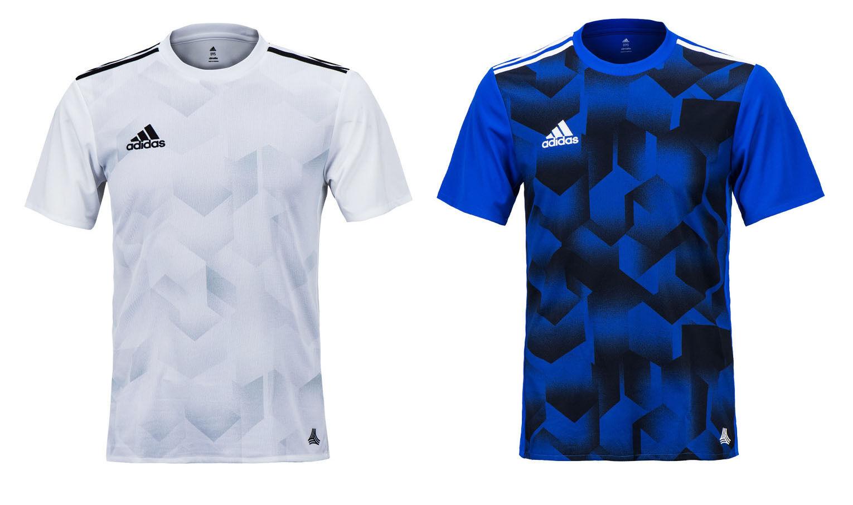 ec831c76200 Adidas Tango Cage Graphic S S Jersey BK3755 BK3757 Soccer Football Training  Top