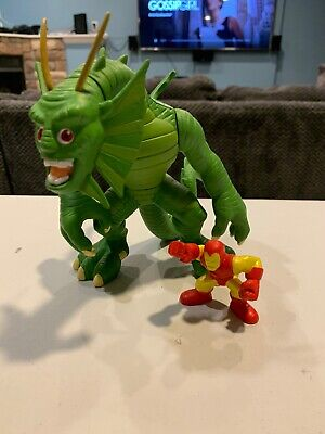 FIN FANG FOOM /& Iron Man Dragon Marvel Super Hero Squad Complet Mega Figure W3