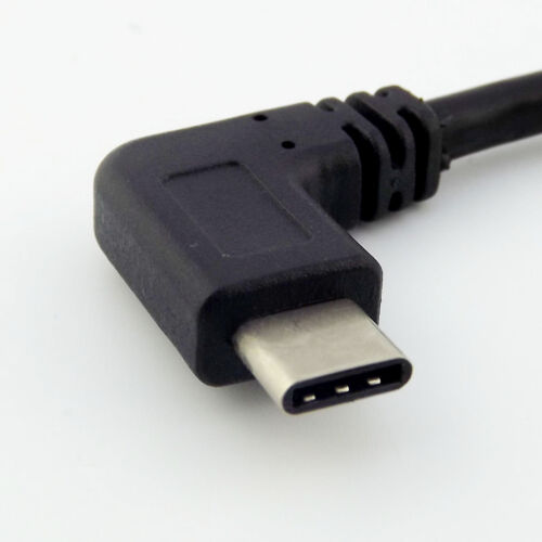 USB 3.1 Type-C Male Angled To USB 3.0 A Female OTG Adapter Data Connector Cable