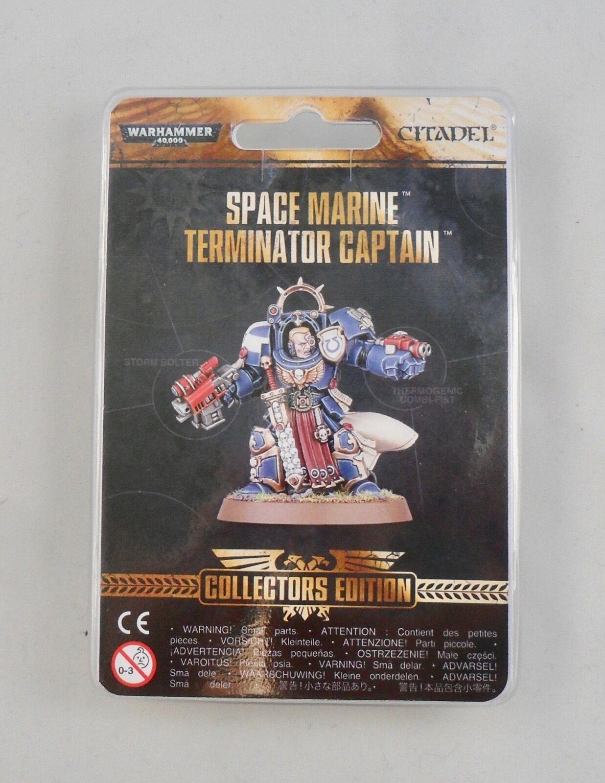 Warhammer 40K Collectors Edition Space Marine  Terminator 2016  sortie