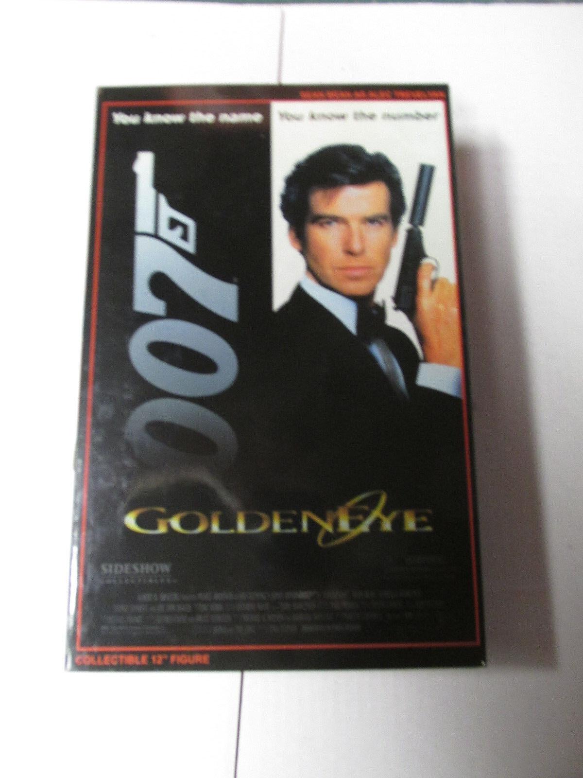 James Bond 007 Sideshow golden Eye Sean Bean 1 6 MIB