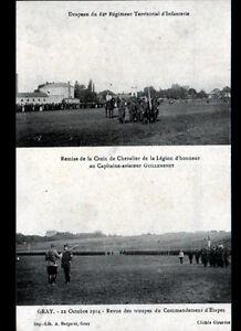 GRAY-70-Capitaine-GUILLEMENEY-Aviateur-CHEVALIER-de-la-LEGION-D-039-HONNEUR-en1914