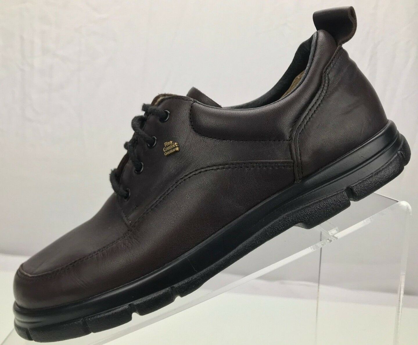 Finn Comfort Apron Toe Casual Oxford Oxford Oxford Comfort Brown shoes Germany Womens 36 5.5 6 0cc038