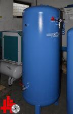 GIS Druckluft Kessel 500 Liter mit Kugelhähnen, Anschlussteilen und Manometer