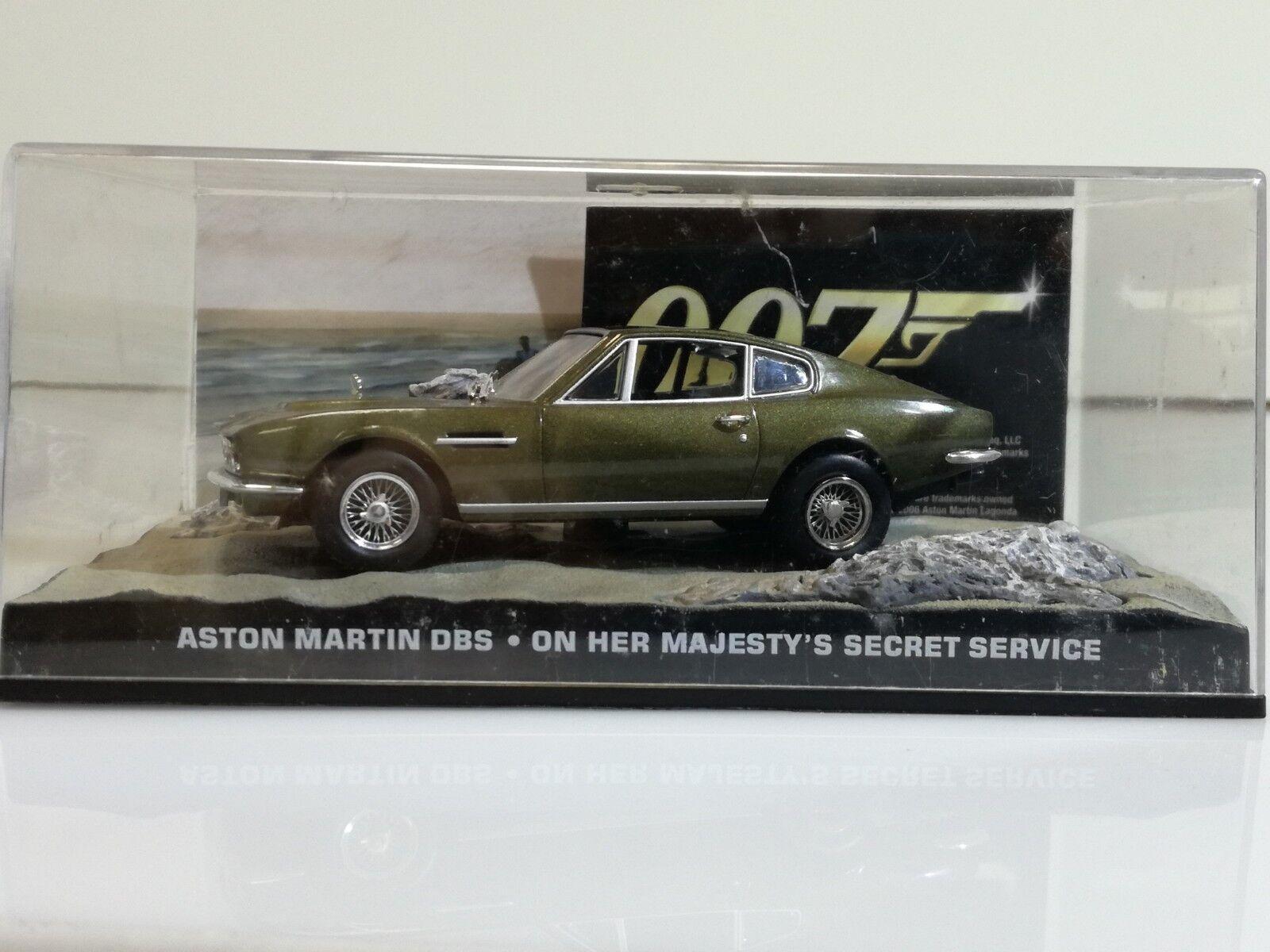 James Bond 007 - Aston Martin DBS - On her Majesty´s Secret Service
