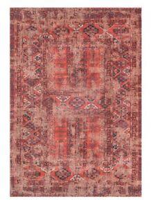 NEW-Louis-De-Poortere-Antique-Hadschlu-Cotton-Rug-L240-x-W170-cm-Red