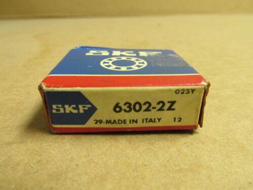 NIB SKF 63022ZC3 BEARING METAL SEALED 6302 2Z JEM 6302ZZ 15x42x13 mm