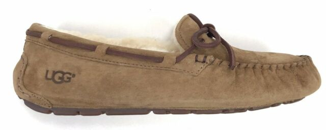 976afadad09 UGG Australia Dakota Sunshine Perf Chestnut Fur Slippers Womens Size 10
