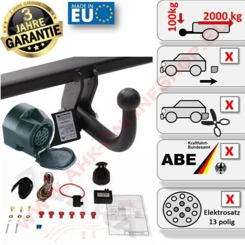 AHK E-Satz 13 polig Mitsubishi Outlander ab 09.2012 Anhängerkupplung AHZV Neu