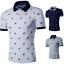 Fashion-Mens-Stylish-Casual-T-Shirts-Slim-Fit-Short-Sleeve-POL-Shirt-Gol-Tops thumbnail 2