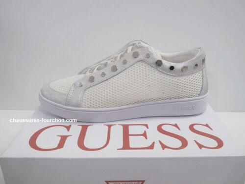 Baskets slip-on GUESS Gisela Blanches NEUF