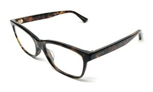 bcaad483eacd NEW GUCCI GG 0162-OA 002 HAVANA WOMEN'S AUTHENTIC EYEGLASSES FRAME ...