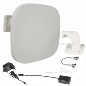 DVB-T2-Aussenantenne-AKTIV-52-dB-Antenne-Freenet-TV-Hohe-Reichweite-Full-HD-4K