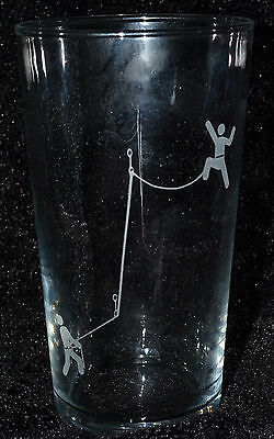 SANCTUARIES EDGE ROCK CLIMBING CLIMB ETCHED LATTE GLASS MUG GIFT PRESENT MUM DAD