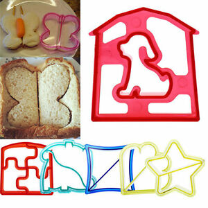 Cookies-Lunch-Kids-Sandwich-Toast-Cake-Bread-Biscuit-Food-Cutter-Mold-Mould-CHI