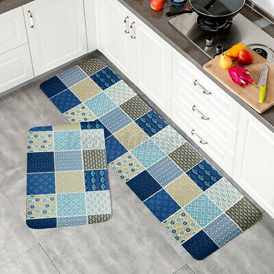 Kitchen Floor Mat Non Slip Runner Anti Fatigue Rug Set Indoor Outdoor Home Au Ebay