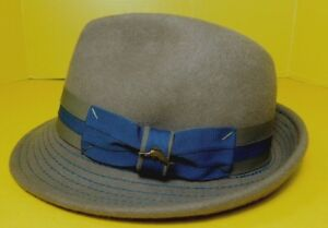 Tommy Bahama Shade Maker Hat Trilby Men s Small Medium Brown Blue ... b3bcbfe156d