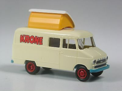OVP top! CIRCUS KRONE BREKINA 32003 H0 VW Bus T1 Kastenwagem