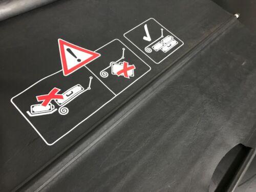 Orig Mercedes SLK R170 Verdeck Schutzrollo Rollo aus Kofferraum A1706900265