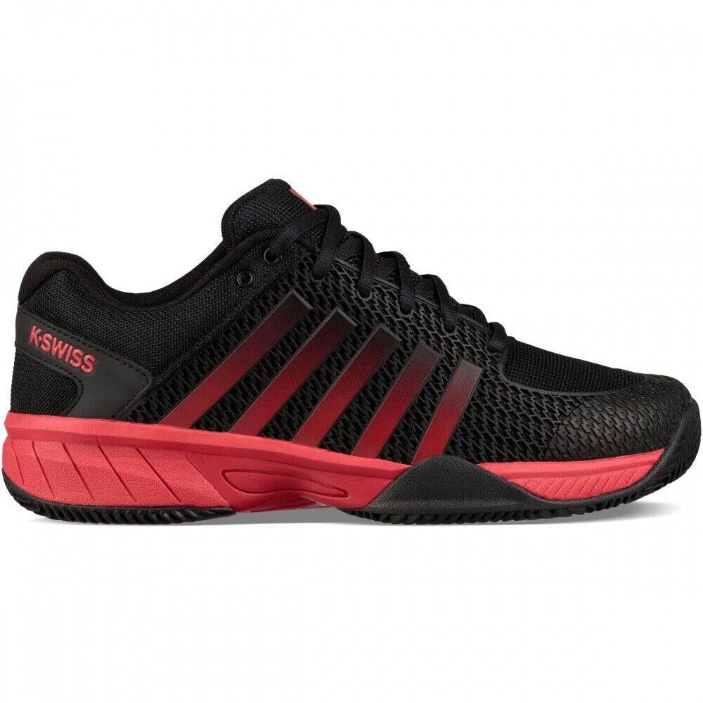 K-Swiss Express light hb negro rojo zapatillas de tenis caballeros PVP 109,99   nuevo