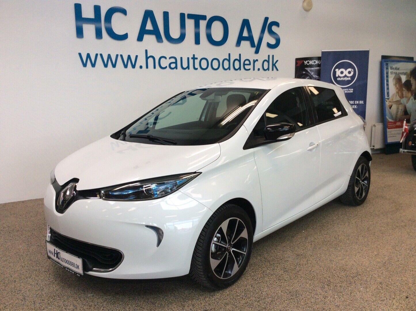 Renault Zoe  Intens 5d - 139.800 kr.