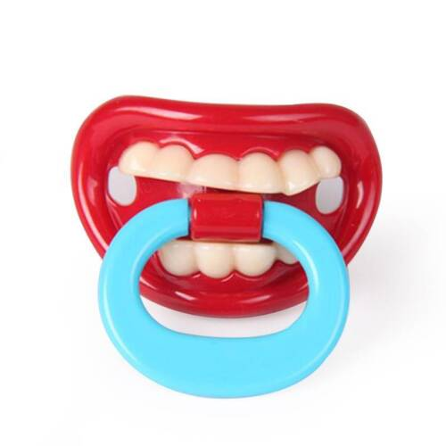Silicone Funny Baby Pacifier Dummy Nipple Teethers Toddler Pacy Orthodontic Tool